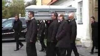 Czech maffia (mafia) boss son funeral 1