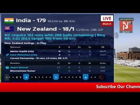 PTV Sports Laar TV Live Cricket Match Today IND vs NZ World Cap Match