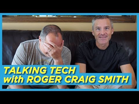 Talking Tech with Roger Craig Smith