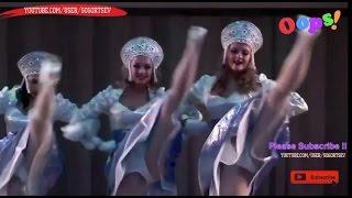 Good Russian Girls folk dance OOPS! / Красивые девушки песенка Ванечка