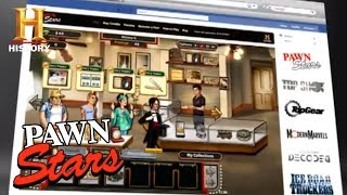 Pawn Stars: Facebook Game Spot   History