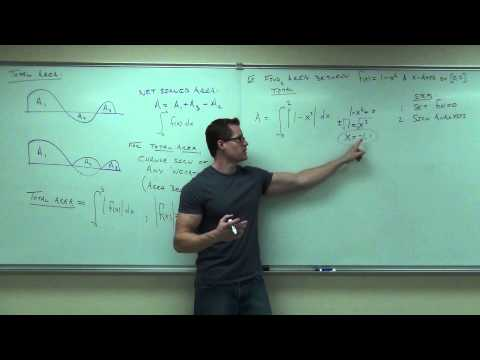 Calculus 1 Lecture 4.5:  The Fundamental Theorem of Calculus