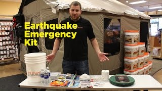 A Look Inside the Earthquake Emergency Kit
