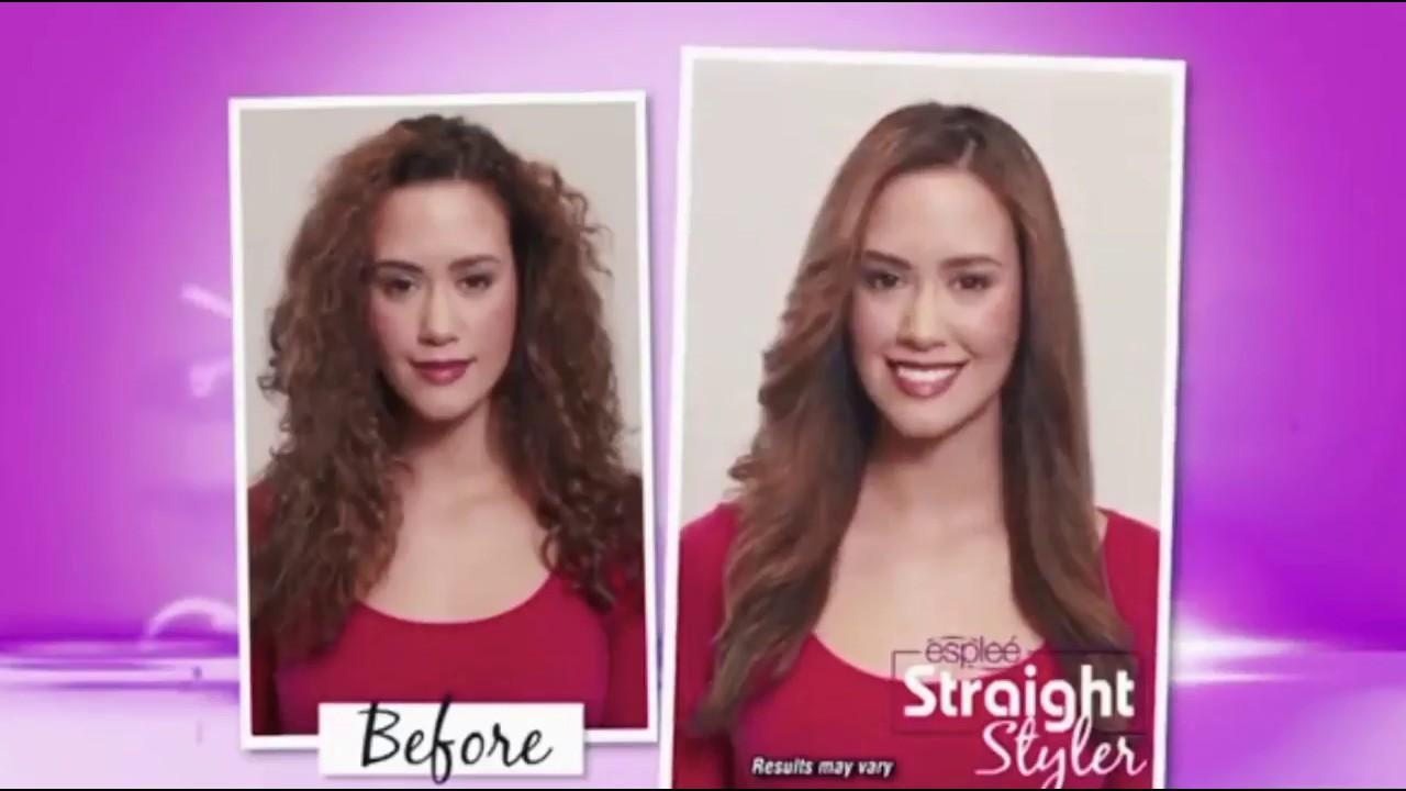 Catok Sisir Pelurus Rambut New Fast Hair Straightener Landing Page