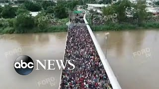 Thousands of migrants attempt to escape violence in Central America