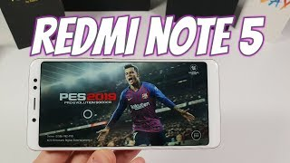 Xiaomi Redmi Note 5 Cyber Hunter/PES 2019 Gaming test Snapdragon 636/60 FPS Max High Graphics