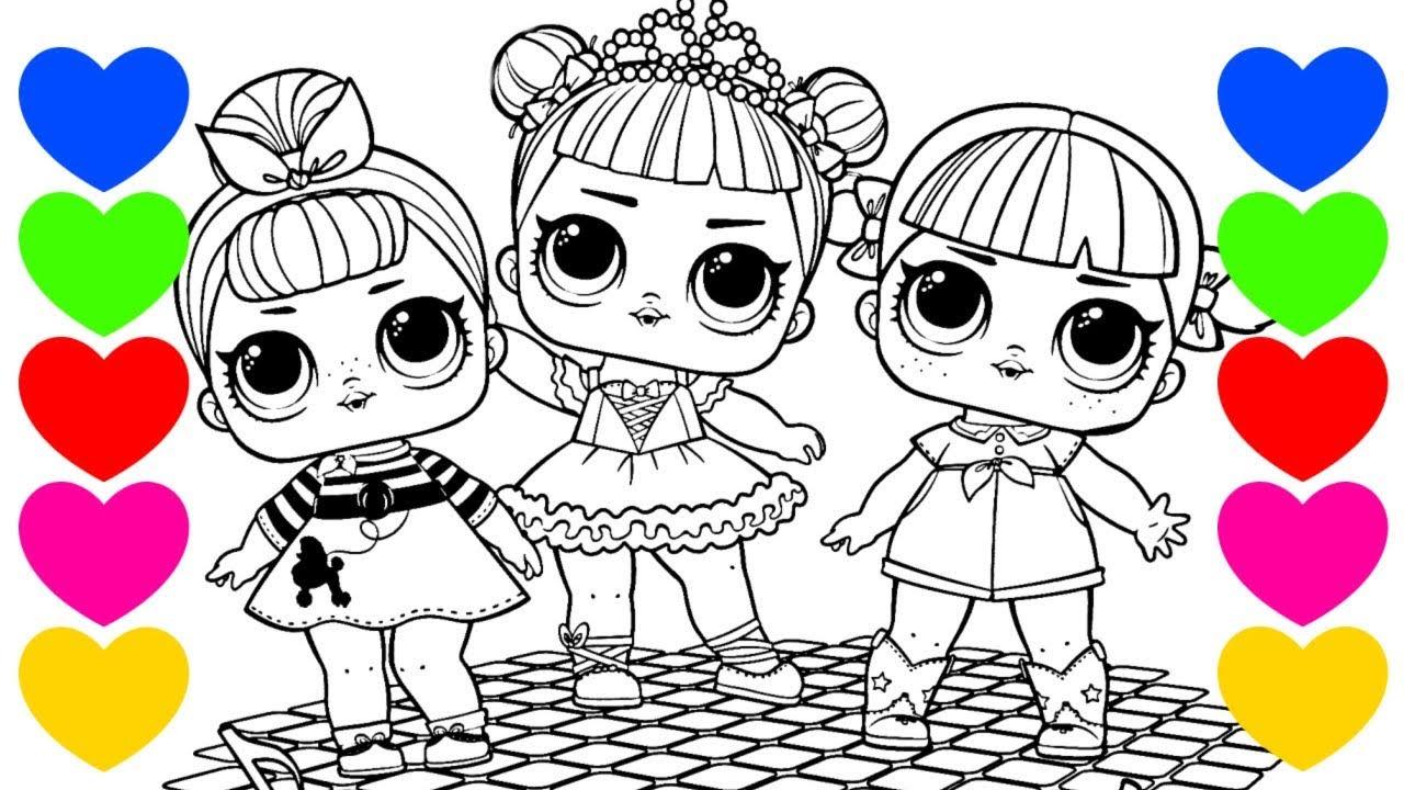 Pintando Lol Desenhos Das Bonecas Lol Surpresa Pintar Desenhos Lol Surprise