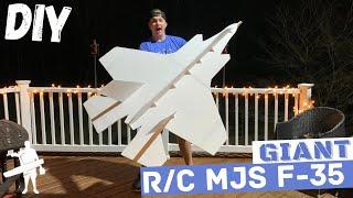 Giant R/C MJS F-35! [DIY]