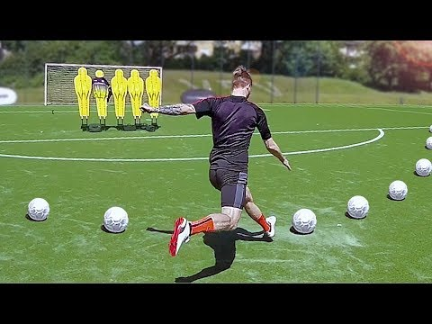 freekickerz vs Marco Reus - Free Kick Challenge