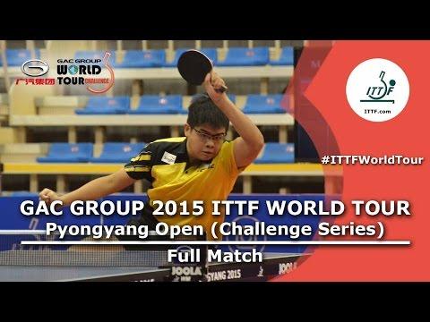 2015 Pyongyang Open: LOY vs MUN (Under 21 Qual) - Full Match