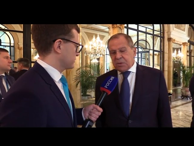Ответ С.Лаврова на вопрос СМИ о решении Президента США Д.Трампа отменить встречу с В.Путиным