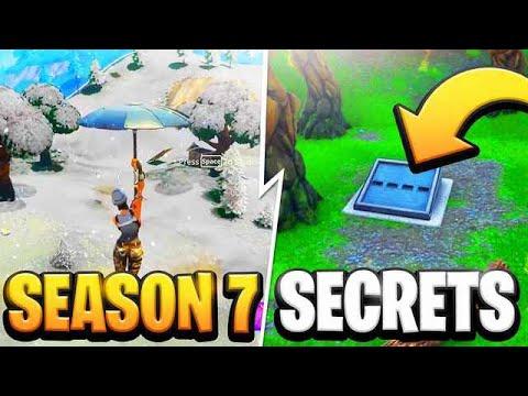 Fortnite Season 7 Secrets!!! (Fortnite Season 7)