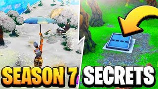 Fortnite Season 7 Secrets!!! (Fortnite Season 7)