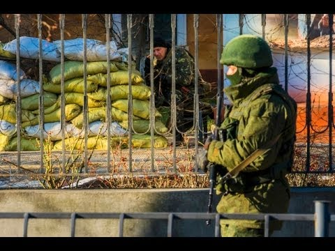 Ukraine Sends Troops towards Crimea