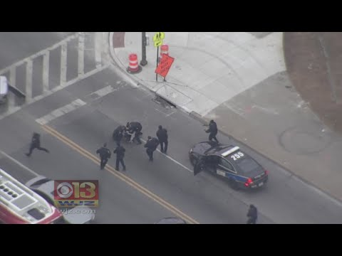 Baltimore Police Arrest 'Shooting Spree' Suspect After Pursuit Throughout City