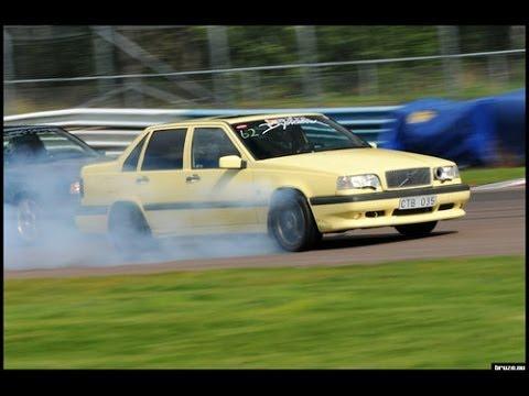 Volvo 850 T-5R - 550 hp - Test run - YouTube