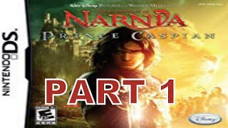 The Chronicles of Narnia: Prince Caspian (NDS) Walkthrough Part 1 With Commentary