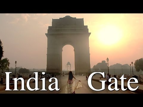 BREATHTAKING BEAUTIFUL SUNRISE INDIA GATE DELHI | TRAVEL VLOG IV