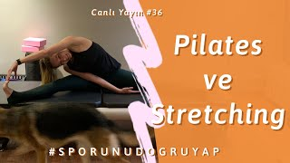 Corona Günlerinde Evde Pilates - Melis Yengil (Pilates Master Instructor)