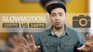 iPhone 6 Plus: Slow Motion 120fps vs 240fps