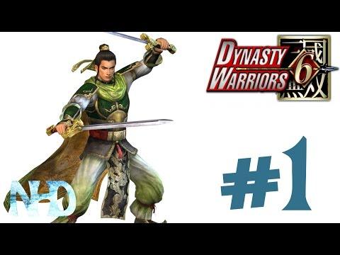 Let's Play Dynasty Warriors 6 Liu Bei (Shu pt1) The Yellow Turban Rebellion