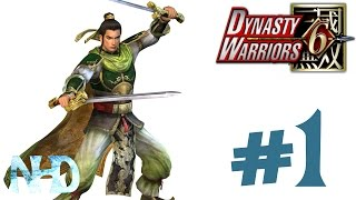 Let's Play Dynasty Warriors 6 Liu Bei (Shu pt1) The Yellow Turban Rebellion