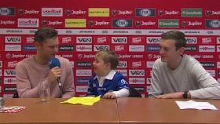 FC Den Bosch TV: Kidsreporter Giovanni interviewt Dennis Kaars