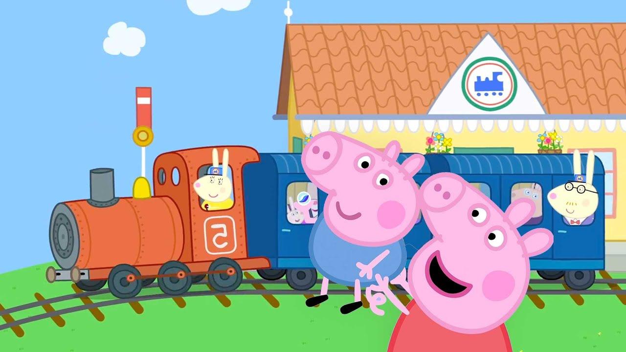 Peppa Pig en Español Episodios completos | Trenes, aviones y coches | Pepa la cerdita