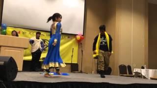 Dance in Hindi song dupatta Tera