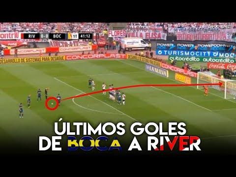 Los últimos goles de Boca a River (2013-2018)