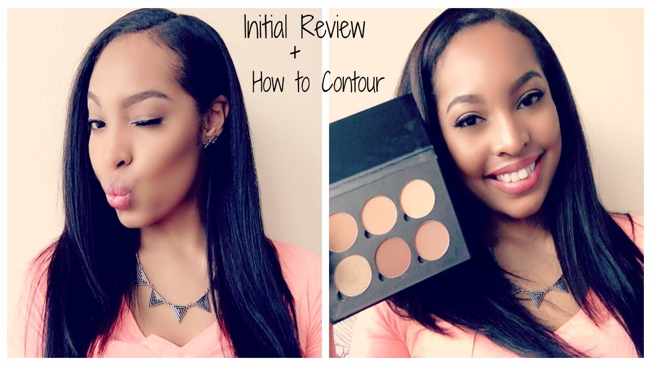 Initial Anatasia Contour Kit Review Medium To Tan +talk Through (woc)