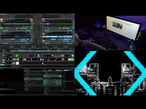 Live Stream Attempting To DJ/VJ at the sammmee timme