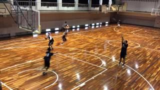月刊バスケットボール・ムック「練習レシピ」に掲載されている福岡大附...
