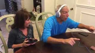 my parents perfect reaction to our baby announcement