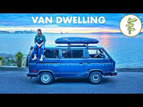 Van Life - Successful Filmmaker Living In A Tiny Camper Van