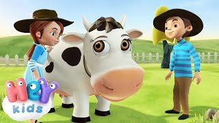 La Vaca Lechera - Canciones Infantiles | HeyKids