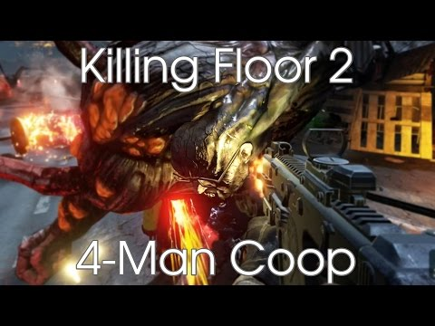 KF2: 4-map Coop - Manor/Paris/Hostile [Hard/Normal]