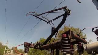 A Pantograph and a 25 kV overhead line thumbnail