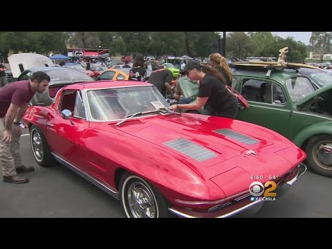 Car  Held In Honor Of Paul Walker