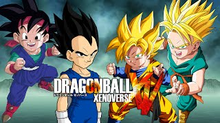 Goku Jr & Vegeta Jr  VS Goten & Trunks | Dragon Ball Xenoverse MODS (Duels)