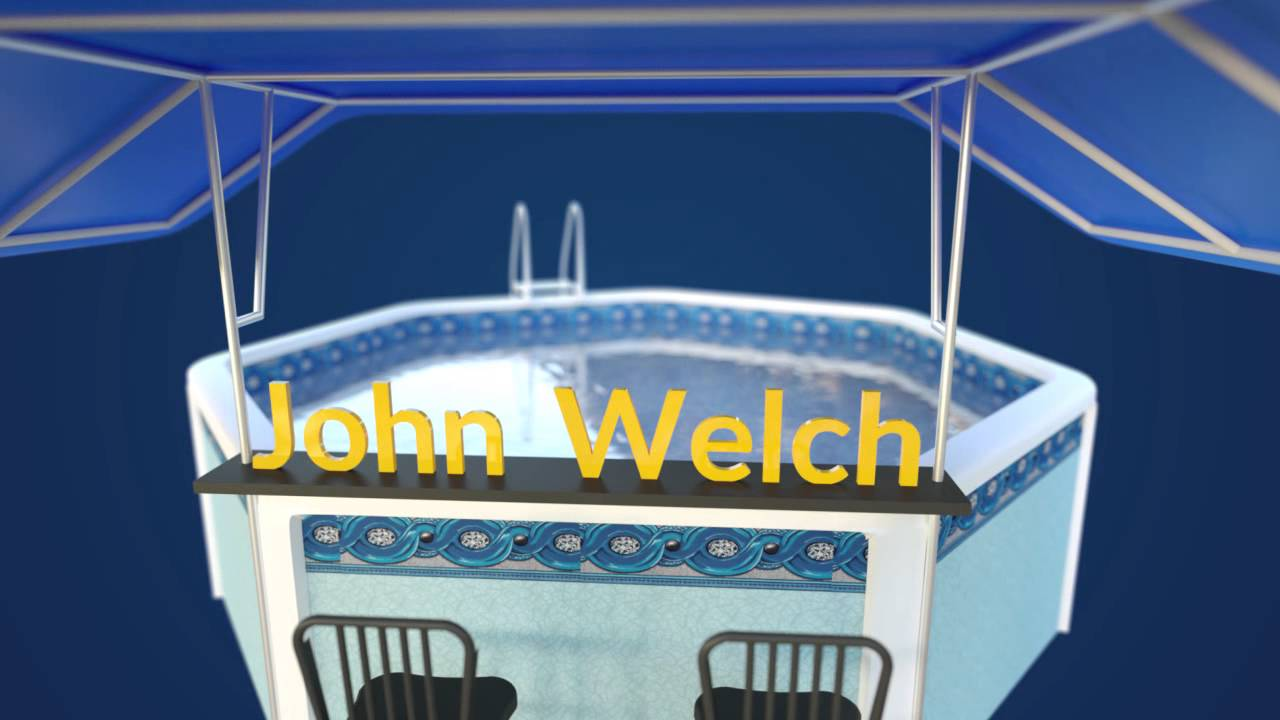 John R Welch Shade Canopy For Pools