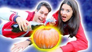 ZUCCA + COCA COLA + MENTOS! (Esperimento di Halloween)