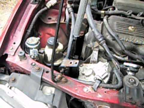 Car Repair Altenater 97 Ford Escort Youtube