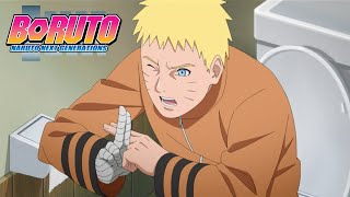 Bathroom Battle | Boruto: Naruto Next Generations