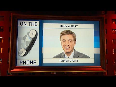 Marv Albert  of NBA on TBS Talks NBA Opening Day & More - 10/24/16