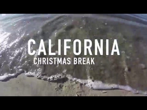 California Winter Vacation 2015