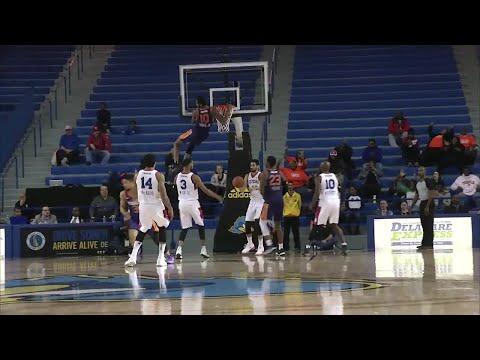 Derrick Jones Jr. (32 points) Game Highlights vs. Delaware 87ers