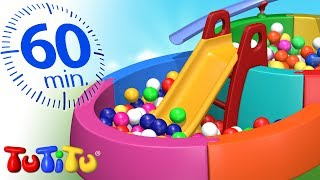 TuTiTu Türkçe  Top Havuzu   En iyi çocuk oyuncakları  1 Saat Özel