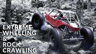 Jeeps On Buggy Trails! Extreme 4x4 Action And Rock Crawling! and broken parts...