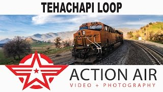 Tehachapi Loop - Tehachapi California - One Of The Seven Wonders Of The Railroad World